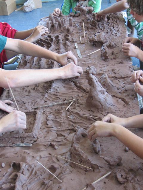kids clay project